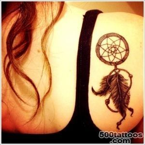 45 Amazing Dreamcatcher Tattoos and Meanings_19