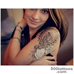 45 Amazing Dreamcatcher Tattoos and Meanings_38
