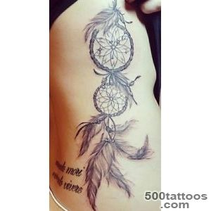 50 Dreamcatcher Tattoo Designs for Women  Art and Design_10