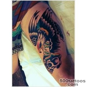 35 Attention Grabbing Eagle Tattoo Designs_27