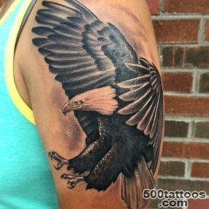 45 Inspiring Eagle Tattoo Designs and Meaning   Spread Your Wings_18