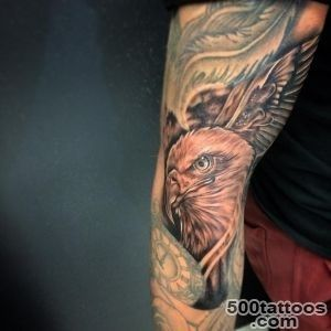 45 Inspiring Eagle Tattoo Designs and Meaning   Spread Your Wings_28