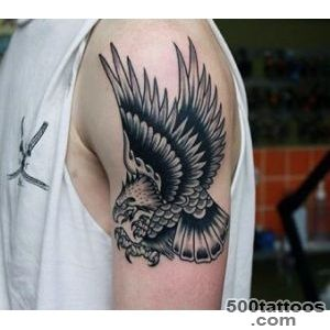 75 Eagle Tattoos For Men   A Soaring Flight Of Designs_17
