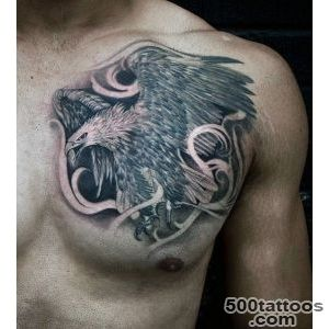75 Eagle Tattoos For Men   A Soaring Flight Of Designs_22