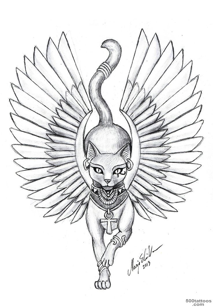 1000+ ideas about Bastet Tattoo on Pinterest  Anubis Tattoo ..._17
