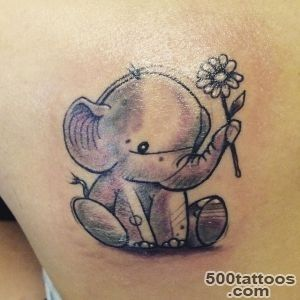 37 Mind Boggling Elephant Tattoo Designs_37