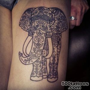55 Elephant Tattoo Ideas  Art and Design_32