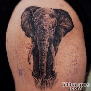 Elephant tattoos for men   Ideas for guys and image gallery_46