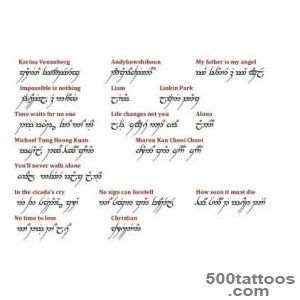1000+ ideas about Elvish Tattoo on Pinterest  Tattoos, Ring _4