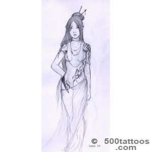 DeviantArt More Like Elven Tribal   Tattoo Study 6 by Elbie3rd_14