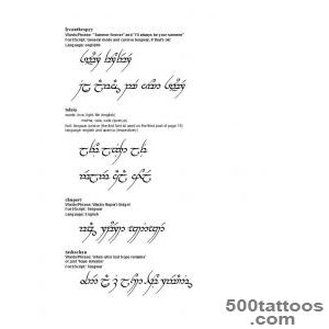 Top The Elvish Tattoo Images for Pinterest Tattoos_30