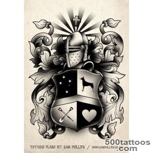 family+tattoo+symbols  Black and White Crest   Sam Phillips _17