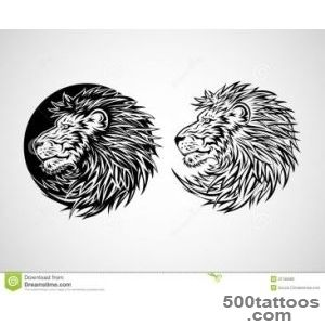 Emblem Lion Tattoo Stock Photo - 44 posters Lion Tattoo _ 41