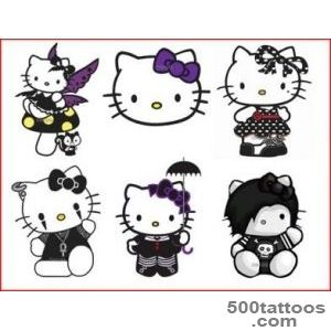 Emo Hello Kitty Tattoos lt Images amp galleries_42JPG