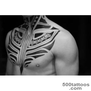 Ethnic Ocean Tribes Blackwork tattoos on Legs  Best Tattoo Ideas _32