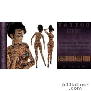 Second Life Marketplace   CAPPLE Tattoo Ethnic   Body and Body _30
