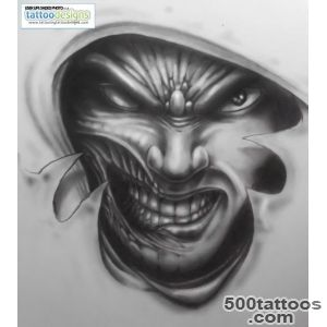 30+ Amazing Evil Tattoo Designs_31