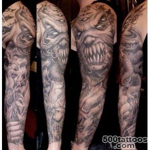 75+ Wonderful Evil Tattoos_6