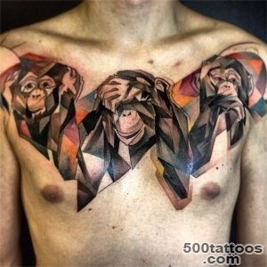 Unique See no evil, Hear no evil, Speak no evil tattoos  Tattoocom_30