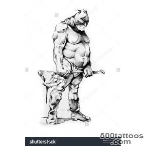 Sketch Of Tattoo Art, Executioner Stock Photo 64372519  Shutterstock_7