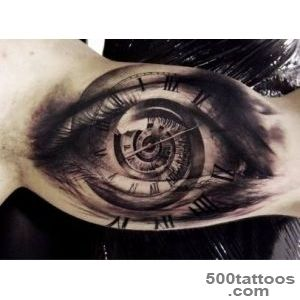 Eye tattoo design, idea, image