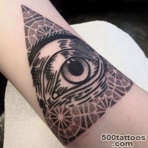 35 Greatest All Seeing Eye Tattoo Ideas A Mystery on Skin_31