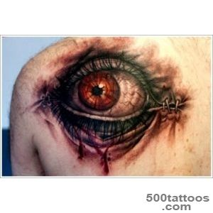 35 Not so Common Eye Tattoo Designs_13