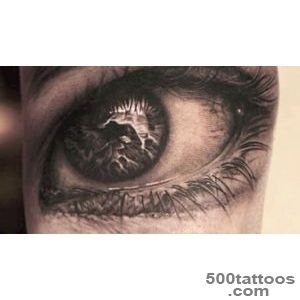 Top 10 Incredible Realistic Eye Tattoo Designs 2014   YouTube_35