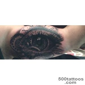 Top 100 Eye Tattoo Designs For Men   A Complex Look Closer_32