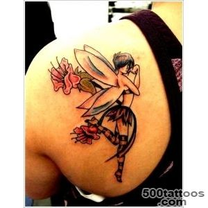 40+ Hot and Sexy Fairy Tattoo Designs for Women and Men_19