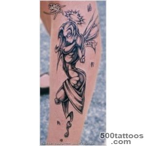 40+ Hot and Sexy Fairy Tattoo Designs for Women and Men_22