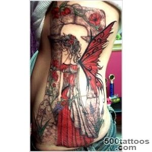 40+ Hot and Sexy Fairy Tattoo Designs for Women and Men_40