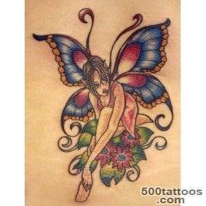 117 Juicy and Hot Fairy Tattoos for Girls_1