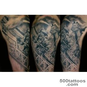 Fire Fighter Tattoo For Shoulders_12