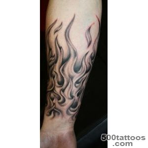 23 Wonderful Tribal Fire and Flame Tattoo  Only Tribal_17