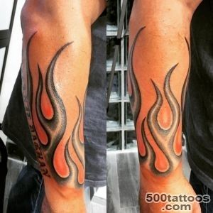 45 Burny Flame Tattoos_37