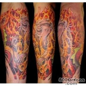 Fire amp Flame Tattoos, Designs And Ideas  Page 8_43