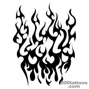 Tribal Fire Tattoo   Clipartsco_15