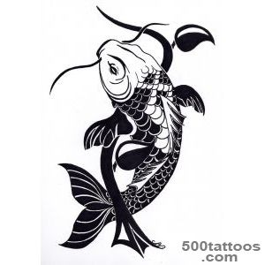Fish tattoo design, idea, image