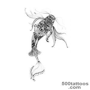 250 Most Beautiful Koi Fish Tattoo Designs And Meanings_19