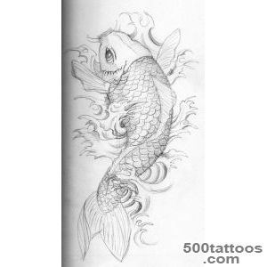 250 Most Beautiful Koi Fish Tattoo Designs And Meanings_49