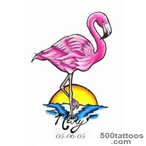 Flamingo Tattoo Images amp Designs_39