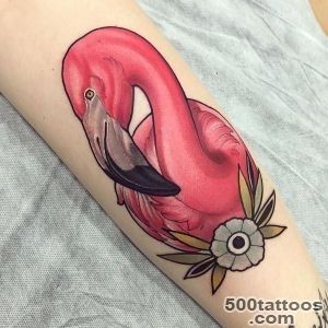 Tattoo Filter on Twitter #Neotraditional #flamingo #tattoo by _50