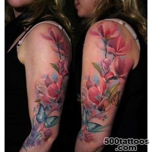 Blue-and-purple-flower-sleeve-tattoo--followpicsco--Tattoo-_29jpg