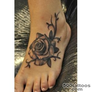 50 Awesome Foot Tattoo Designs  Art and Design_5