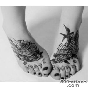 75 Cool Foot and Flip Flop Tattoos_2