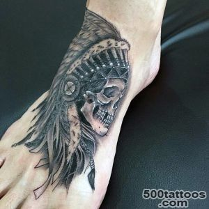 90 Foot Tattoos For Men   Step Into Manly Design Ideas_44
