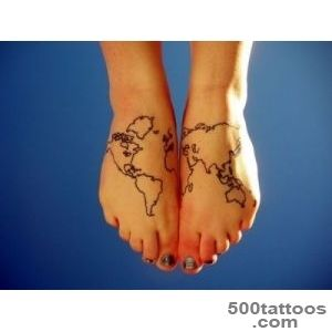 101 Best Foot Tattoo Designs and Ideas with Significant Meanings_22
