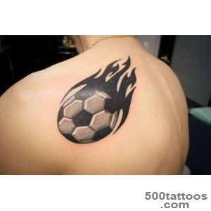 Best tattoo with the image of a football tattoo  Best Tattoo _13
