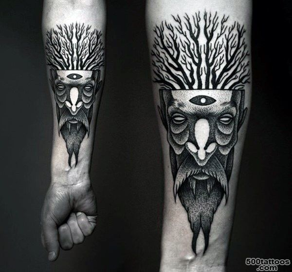 81 Indescribale Forearm Tattoos You Wish You Had_3